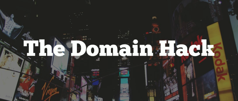 the domain hack